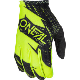 ONeal Matrix Gloves BURNOUT black/neon yellow